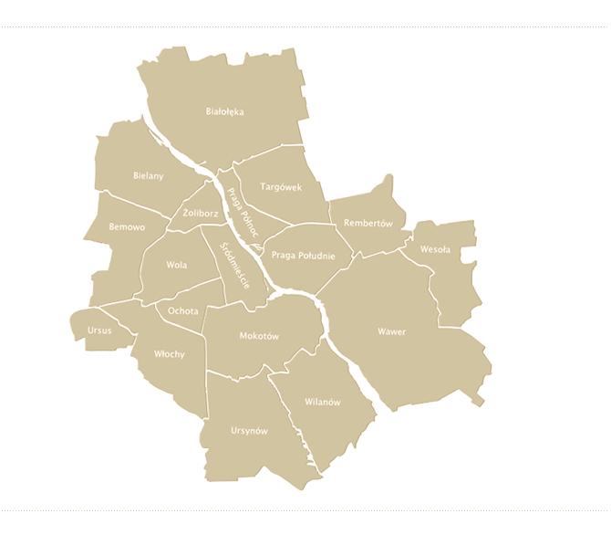Dzielnice Warszawy Serwis Informacyjny Na Temat Miasta